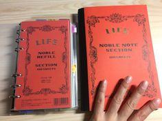 「バレットジャーナル」の家にいつも置きっぱなしにする方 | ヘタノヨコズキ Travel Brochure, Studyblr, Journal Notebook, Travelers Notebook, Filofax, Diy And Crafts, Stationery, Bullet Journal, Notes