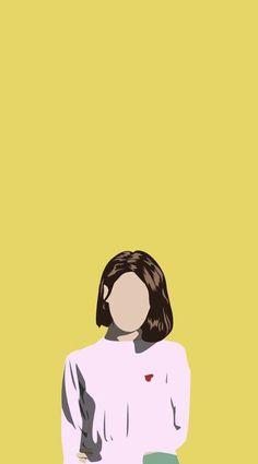 Wallpaper iphone art illustrations design 53 ideas for 2019 Art Anime, Anime Art Girl, Wallpaper Minimalista, Pop Art, Cover Wattpad, Art Mignon, Poster S, Art Et Illustration, Art Illustrations
