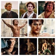 Some of my favorite Jamie Fraser scenes.   B0JaRobCcAA0hob.jpg (600×600)