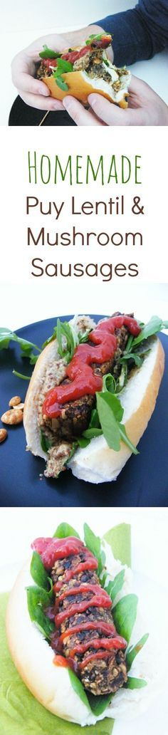A really simple and quick recipe for the most satisfying and delicious vegan sausages. Chill them until you need them, they happily sit in the fridge for 2-3 days or freeze them and always have a quick meal to hand. The main ingredients are puy lentils, m