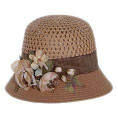 Rose Branch Packable Hat