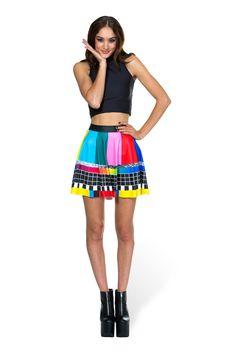 Dynamic Black Milk Clothing Xs Skater Skirt Skirts