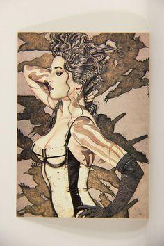 L008643 Olivia DeBerardinis 1992 Card #4 - Exotique 1988 / Pin-Up Art