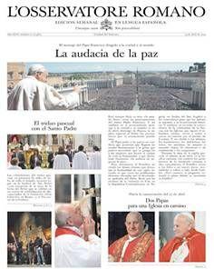 L'Osservatore Romano - http://es.scribd.com/doc/223752262/Arca-News-43