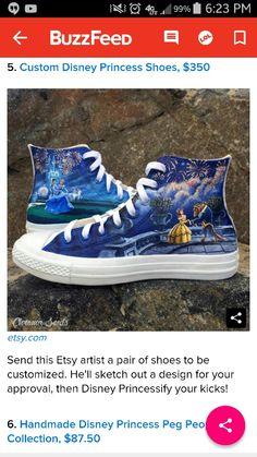 Real princess shoes