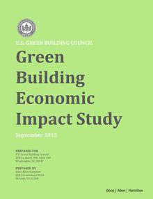 2015 Green Building Economic Impact Study