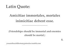 Latin Quotes About Friendship Endearing Category Good Tattoo Quotes  Picture Good Quotes For Tattoo_33