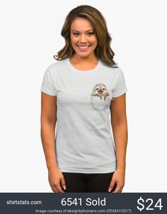 Put a sloth in your pocket now!