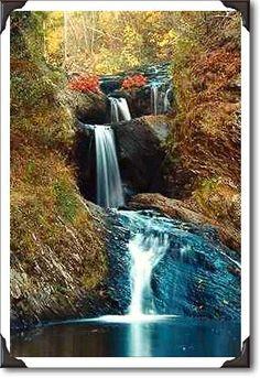 Four Falls    Little River Falls, Saint John, New Brunswick (NB) Photo