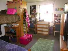 College Dorm Room Organization/Decoration