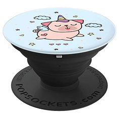 Unipug Pug Unicorn PopSockets Grip and Stand for Phones and Tablets
