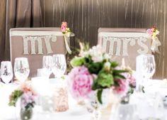 Hochzeitsdekoration-Brauttisch