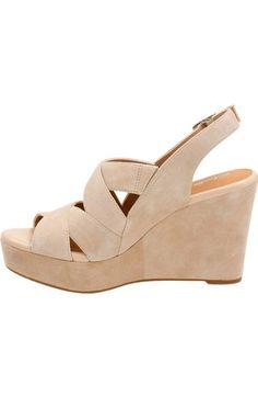 38e1b7c3747cd Clarks®  Amelia Alice  Slingback Wedge Sandal (Women)