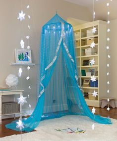 Take A Look At This Blue Snowflake Castle Hideaway Today!