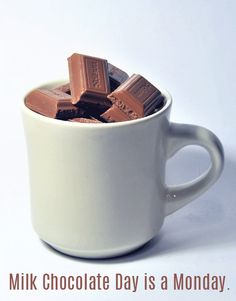 It's Milk Chocolate Day! #daysoftheyear http://blog.giftfly.com/milk-chocolate-day/