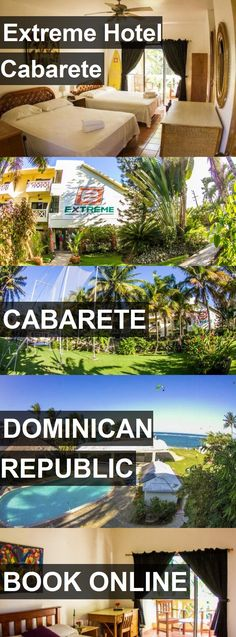 Hotel Extreme Hotel Cabarete in Cabarete, Dominican Republic. For more information, photos, reviews and best prices please follow the link. #DominicanRepublic #Cabarete #ExtremeHotelCabarete #hotel #travel #vacation