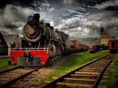 Museo Ferroviario de Temuco National Railway Museum, Patagonia, Chili, Board, Beautiful Scenery, Trains, Parking Lot, Walks, Islands