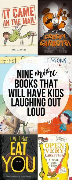These funny picture books will have your kids laughing out loud! Great list of story recommendations.