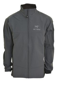 Arc'teryx Mens Ascent Softshell Jacket Water Wind Proof Stretch Woven Evolution