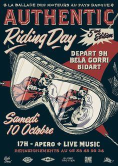 Bike event #caferacer #illlustration | caferacerpasion.com