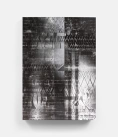 Untitled (NB-2013-32) (2013) 66.2 x 93.6 in., Pigment on adhesive fabric