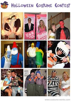 ...more Halloween costumes for couples