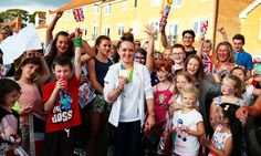 OLYMPIC gymnast Amy Tinkler returned home to a hero's welcome on Tuesday…