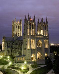 The Washington National Cathedral, Washington, DC