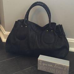 Kenneth Cole Black Purse/Handbag