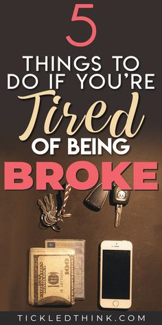 Being constantly broke and stuck living paycheck to paycheck can be very stressful. If you want to start saving money, pay off your debts and achieve financial security, read on to learn easy and effe