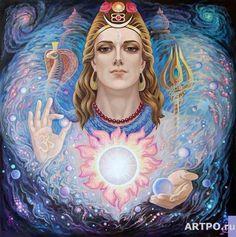 Shiva by Vladimir Suvorov Bhagavad Gita, Relaxation Pour Dormir, Om Namah Shivay, Lord Murugan, Hindu Deities, Hinduism, Gautama Buddha, Ascended Masters, Goddess Art