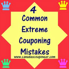 Read about the 4 Deadly Couponing Sins in my latest blog article! Make sure you don't make the same mistakes I did Extreme Couponing, How To Become, How To Make, Mistakes, Coupons, Reading, Blog, Coupon, Reading Books