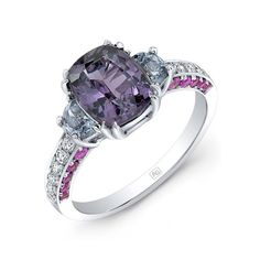 AG Gems purple spinel ring #SpectacularSpinel