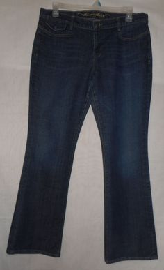 Womens Size 14 The Sweetheart Jeans Classic Rise Medium to Darkwash #OldNavy #StraightLeg
