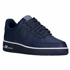 Nike Air Force 1 - Low - Men's $89.99 Selected Style: Loyal Blue/White/Loyal Blue Width D: Medium Product #: 88298437