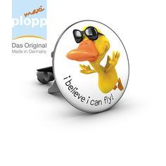 """maxi plopp """"i believe i can fly!"""" #Badezimmer #Bad #Einrichten #Wohnen #Geschenkidee #Sprüche #bathroom #gift idea"""