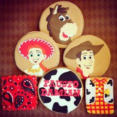 Toy Story Rodeo Party Cookies | Cookie Connection