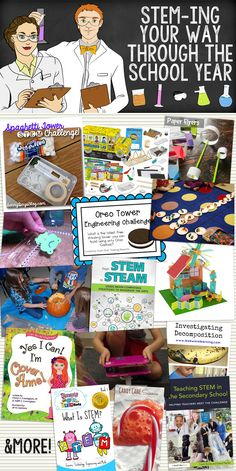 STEM-ing Your Way Through the School Year – activities to get students excited about STEM!