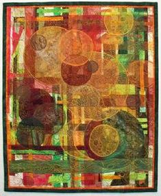Holiday Textile Art by Wendy Read
