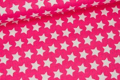 Stoff - Sterne - Basics - Riley Blake - Pink auf alles-fuer-selbermacher.de