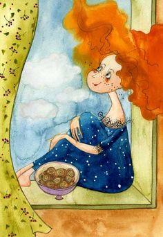 VICTORIA KIRDIY - Russian Artists, Illustrator.