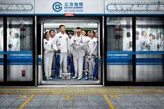 Paramedics | Beijing Subway | Grey