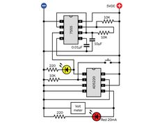3 phase induction motor speed controller circuit