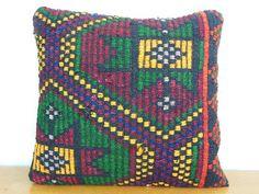 Kilim Pillow -Throw Pillows From Etsy