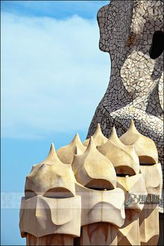 Casa Milà's Chimneys | La Pedrera, Barcelona, Spain