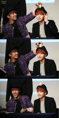 i can't believe how soft yoongi is for hoseol, look how gentle his smile is ;;;