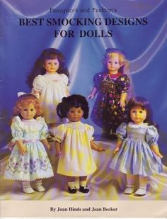 Free Copy of Book - Best Smocking Designs For Dolls