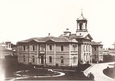 Normal School Building, Gould Street north side, east of Yonge St. 1856
