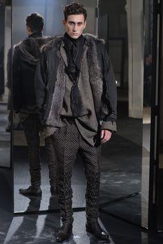 Haider Ackermann Men's RTW Fall 2014 - Slideshow - Runway, Fashion Week, Fashion Shows, Reviews and Fashion Images - WWD.com