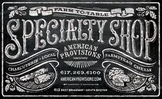 Hand Typography and Signage / Zoom Photo — Designspiration